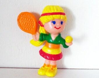 Vintage PVC Life Savers Tennis Mini Figure