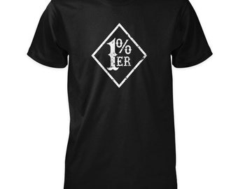1%er Shirt - One Percenter Outlaw Biker