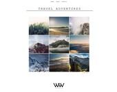 "Responsive Blogger Template ""Travel Advantures"" / Instant Digital Download Premade Photography Blog Theme Design"