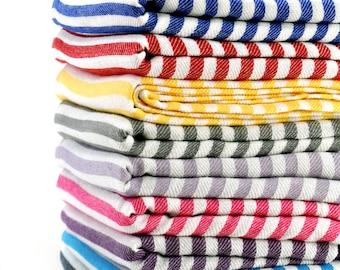 EXPRESS SHIPPING Turkish Towel Peshtemal Turkish Bath Towel Turkish Beach Towel Turkish Bath Hammam Towel Fouta Towel Linen Towel