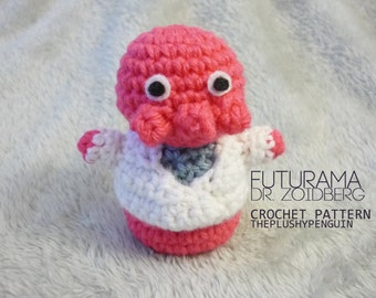 Items similar to FUTURAMA - Dr Zoidberg Ski Mask Hat on Etsy