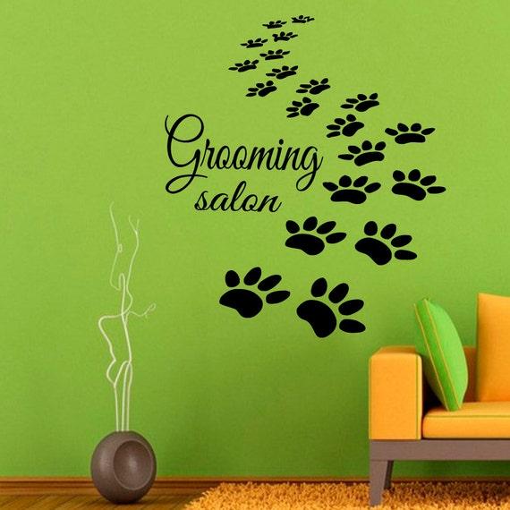 Pet Shop Home Interior Design Vinyl Decal Sticker Art Mural Kids Room