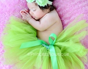 Lime Green Baby Tutu,  Infant tutu, Tutu Skirt,  Tutu For Babies, Baby Shower Gifts, Baby Halloween Costume