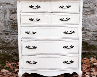 SOLD: French Provincial Chest of Drawers