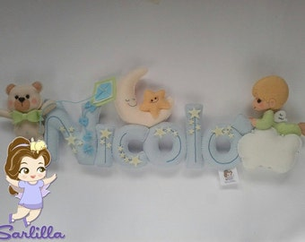 Baby name PERSONALIZED banner