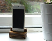 iPhone and iPad Laser Cut Wooden Dock
