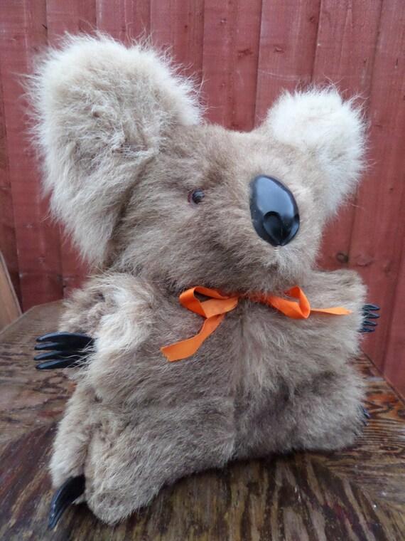 Vintage Australian Koala Real Kangaroo Fur by ...