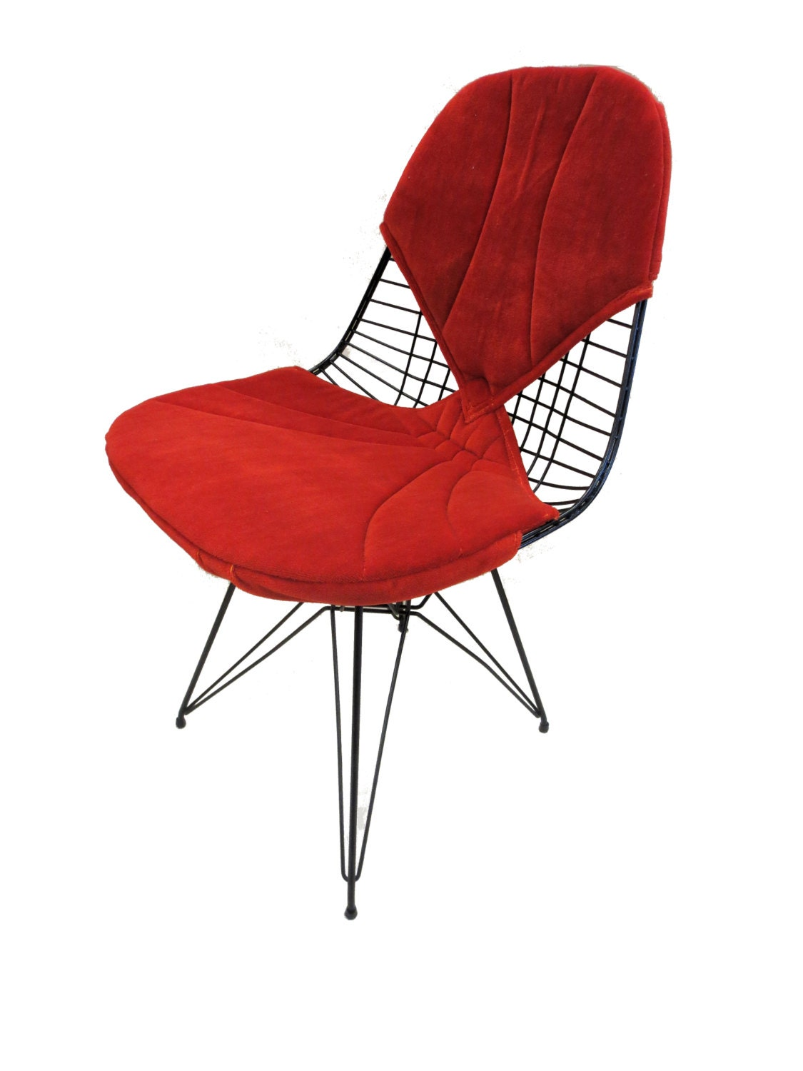 Eames dkr wire chair 1951 herman miller iconic by russellsretro - Herman miller bucket chair ...