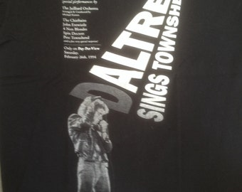 The Music of Pete Townshend and The Who, Daltrey Sings Townshend, Carnegie Hall, T-Shirt, XL, Never Worn, 1994, Roger Daltrey Pete Townshend