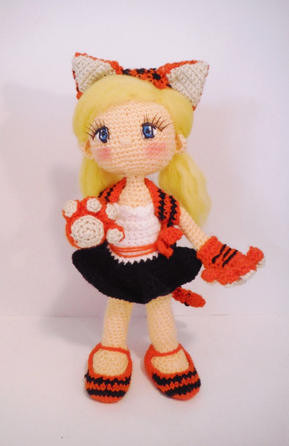 Etsy Amigurumi Patrones : Items similar to crochet PATTERN amigurumi doll witch. PDF ...