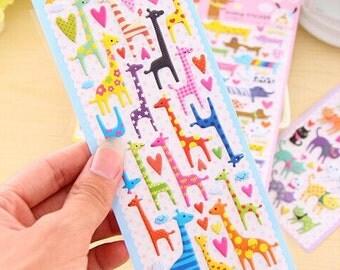 Stickers Filofaxing kawaii 3D