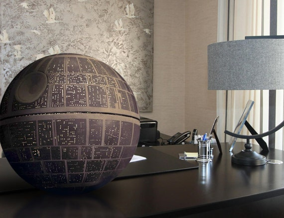 star wars death star may 4th sale anh model prop by. Black Bedroom Furniture Sets. Home Design Ideas