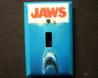 "Light Switch Cover ""Jaws"" the movie Print"