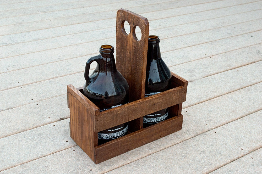 Wood Craft Caddy From The  S
