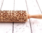 FOLKY - embossing rolling pin