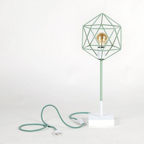IRIS Licht Mint grün minimalistisches Design von LightingAlchemy