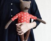 Patrick The Bear. Primitive Bear. Child friendly toys. Soft Bear - Best Friend for kids