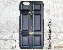 Sherlock Holmes Inspired Phone Case, Door Number 221B Phone Case, Iphone 4/5/5c/6/6+/6s, Samsung Galaxy S3/S4/S5/S6/S6 Edge/6Edge+, Note5