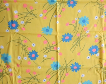 Flower Power of the 60's Vintage Fabric
