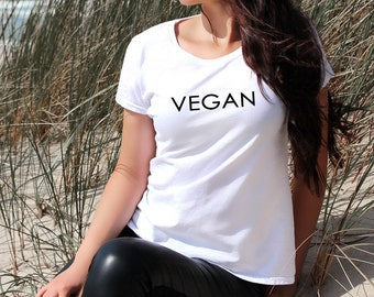 Vegan Women's T-Shirt Slogan Funny Gift Idea