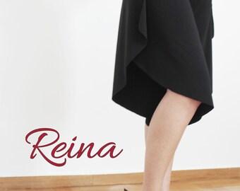 Tango / Milonga / Salsa pants black with slits on the sides