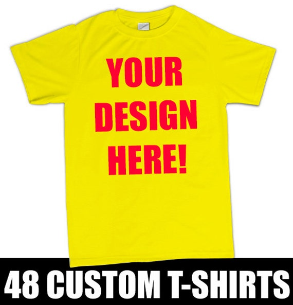 48 custom screen printed t shirts with your by bigtimecustoms for Custom business logo t shirts