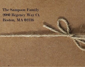 Address Stamp, Personalized Return Address Stamp, Custom Return Address Stamp