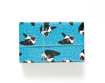 Boston Terrier Gift Wrap