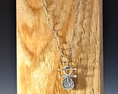 The Sultan's Necklace in sterling silver