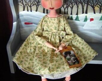 Cissy Cindy Folk Art Doll pattern