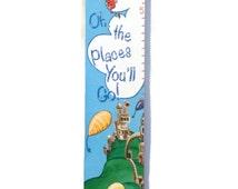 Dr Seuss Custom Canvas Growth Chart