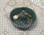 Ceramic Ring Bowl - Jewelry Dish - Stoneware Pottery - Home Decor