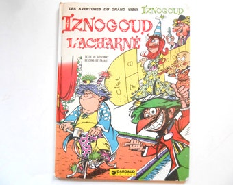 Iznogoud L'Acharne, a Vintage Children's Book, French, 1974
