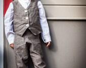 Gatsby Pants -linen-