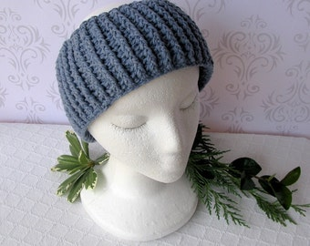 Blue Jeans Headband - Ear Warmer