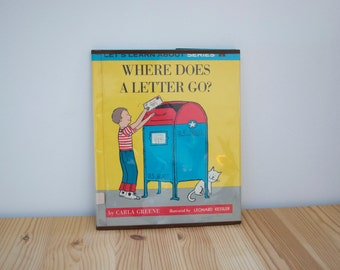 Vintage Childrens Book about US Mail