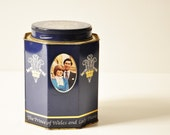 Rare Vintage Princess/Lady Diana Prince Charles Ridgways Tea Tin - England - The Prince of Wales -  Lady Diana Spencer