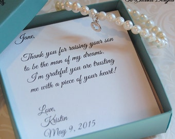 Wedding Present For My Mom : ... mother of bride bracelet mother in law gift wedding gift future mother