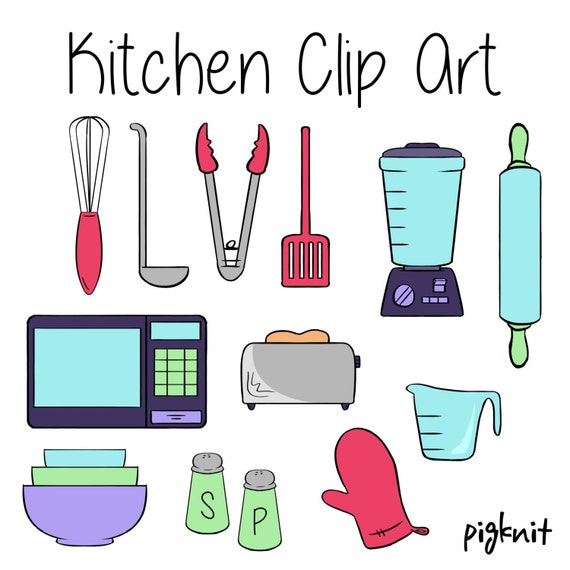 Kitchen Clip Art Appliance Clip Art Cooking Clip Art By