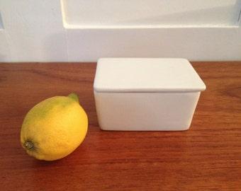 Little Butter Jar / White bougth in Denmark