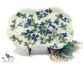 Vintage St Patrick's Day Tray, Small Four Leaved Clover Tray, Irish  Home Decor,  Collectible Metalware