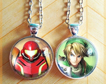 Choose from 50 images! - Super Smash Brothers Pendant