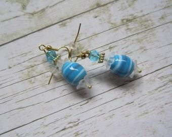 Blue Easter Egg Earrings, Easter Earrings, Blue Earrings, Blue Egg Earrings, Egg Earrings,Easter Jewelry,Earrings,Easter Gifts,Gifts for Her