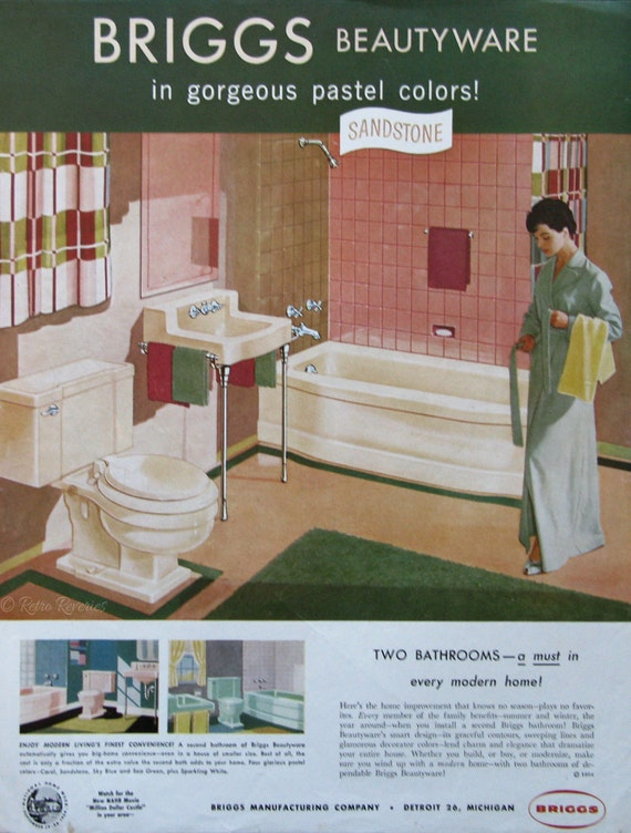 1954 briggs beautyware vintage home decor ads 1950s home decor banner ads trend home design and decor