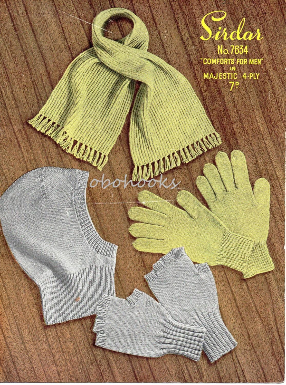 Mens gloves knitting pattern -  Mens Gloves Knitting Pattern Pdf Zoom