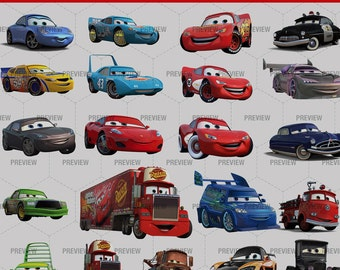 Clipart Cars PNG HD - 34 images PNG  - Instant Download
