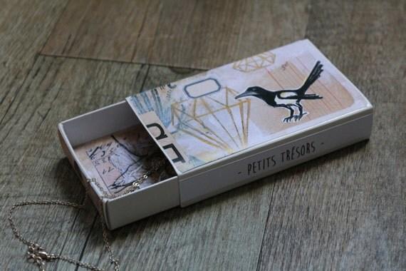 petites boites de rangement pour bijoux et petits objets. Black Bedroom Furniture Sets. Home Design Ideas