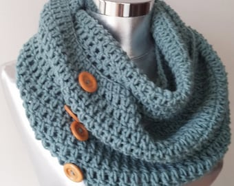FAST DELIVERY  infinity scarf, Winter Scarf, Cowl, Knit Scarf, man scarf, circle scarf, chunky scarf Many Colors