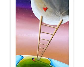 Limited Edition - Destination Moon - Signed 8x10 Semi Gloss Print (#9/10)