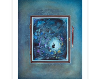 Seafarer Series Limited Edition - Window To Genesis - Signed 8x10 Matte Print (7/10)